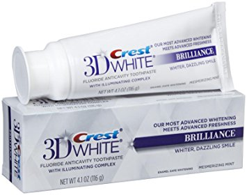 Crest 3D White Brilliance tandpasta - tandblegning tandpasta