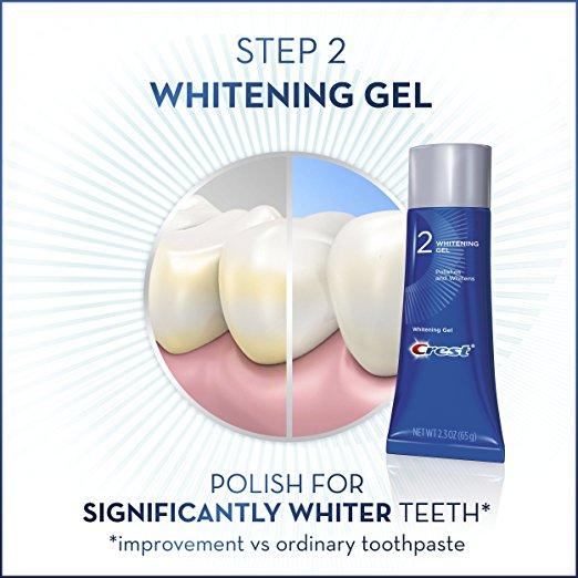 Crest tandblegning polish