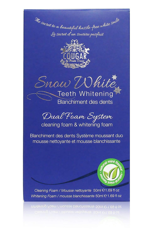 Naturlig tandpasta til tandblekning - Skum til tandblegning