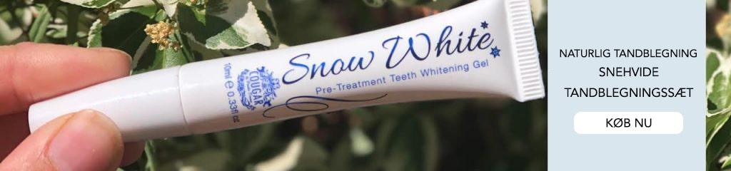 Naturlige tandblekningspenner og tandblegningssæt